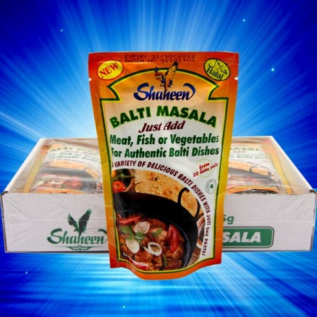 SHAHEEN BALTI MASALA PASTE FOR ALL YOUR AUTHENTIC CURRY DISHES