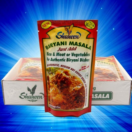 SHAHEEN BIRYANI MASALA PASTE FOR ALL YOUR AUTHENTIC BIRYANI DISHES