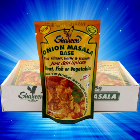 SHAHEEN ONION MASALA PASTE FOR ALL YOUR AUTHENTIC CURRY DISHES